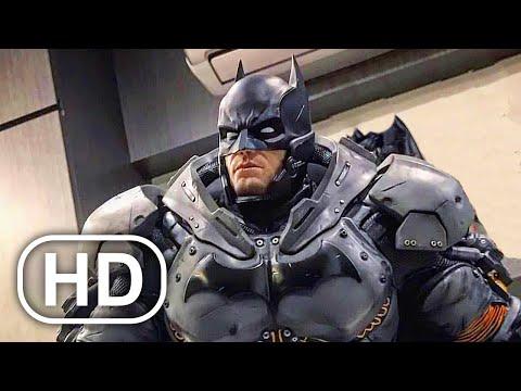 Batman Full Movie Cinematic 2021 All Batman Arkham Cinematics 4K ULTRA HD Superhero Action