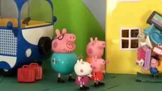 Peppa Pig 2015 New Toys English Episodes - Peppa Camping In Camper Van ft. Bing Bong Song! HD Video!