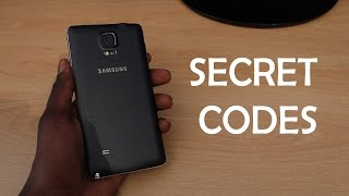 Samsung Galaxy Note 4 - SECRET CODES