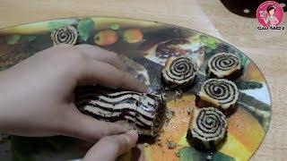 جديييد حلوة التمر رولي من ألذ وأرقى أنواع الحلوى نحضر دفعة واحدة جربوها وحكمو / حلويات العيد