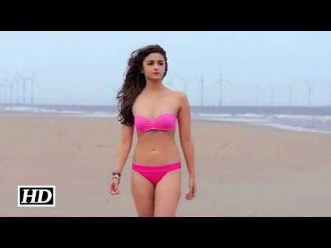 Alia Bhatt In Hot Pink Bikini | Shaandaar