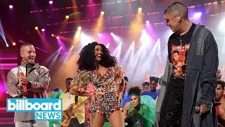 Cardi B, Bad Bunny & J Balvin May Have Had the Best AMAs Performance! Do You Agree?   Billboard News