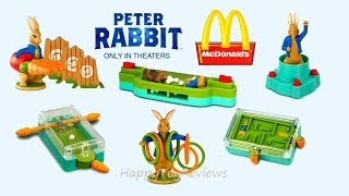 2018 McDONALD'S PETER RABBIT MOVIE HAPPY MEAL TOYS NEXT AMERICAN GREETINGS VALENTINE'S DAY CARDS USA