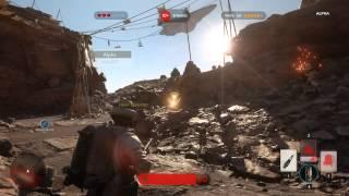 Star Wars Battlefront Closed Alpha Co-op Gameplay