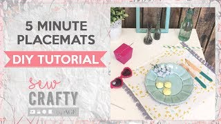 5 Minute Placemat Tutorial