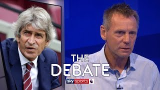 Should West Ham fans be worried about relegation? | The Debate | Pearce and Bellamy