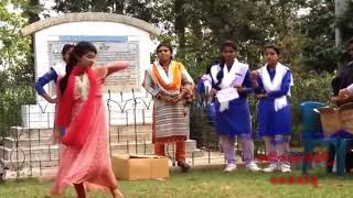 Dance by a college girl || latest video || Bangladeshi