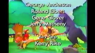 Opening/Closing to Barney & the Backyard Gang: Three Wishes 1991 VHS