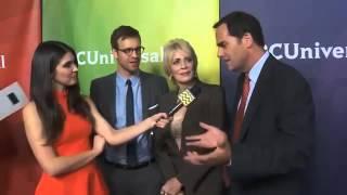 Sean Kleier, Joanna Cassidy & Andy Buckley @ NBC Universal's Winter Press Tour Event | Afte