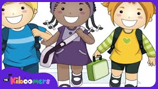 This Is The Way We Go To School | School Songs | Songs for Kids | The Kiboomers