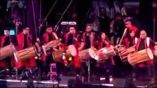 Indians Playing Dhol & Tasha In The UK