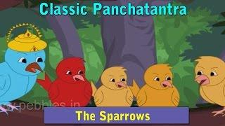 Panchatantra Stories in Hindi |  The Sparrows | Animated Hindi Stories For Kids | Hindi Kahaniya