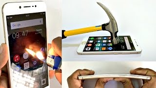 Vivo V5 - Scratch test, Hammer test, Burn test, Bend test