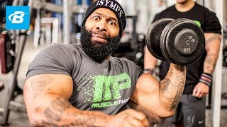 CT Fletcher's Armed Warfare Arm Workout - Bodybuilding.com
