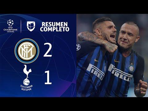 Inter de Milán 2-1 Tottenham - GOLES Y RESUMEN - Grupo B UEFA Champions League