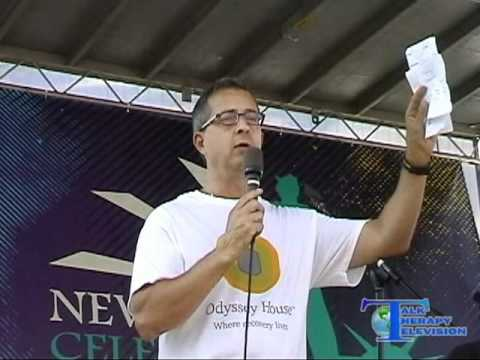 Peter Provet (Odyssey House) at NYC Recovery Rally 2010