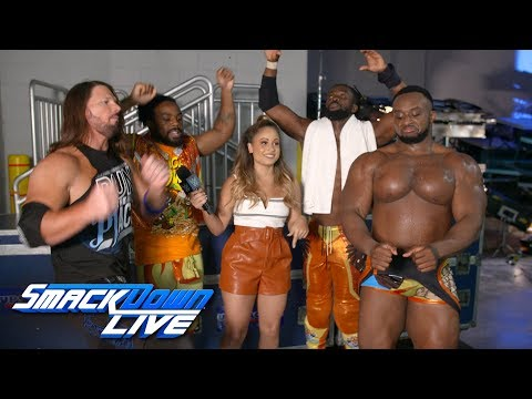 Xxx Mp4 The New Day Celebrate With AJ Styles SmackDown Exclusive Aug 7 2018 3gp Sex