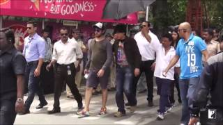 Making of The Song - FAN Shooting FAN Song  SRK Film