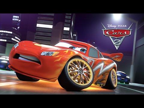Disney Pixar Cars 2 Full Movie Based Game in English Lightning McQueen Walkthrough by 2k Cartoons