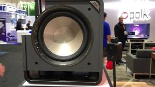 CEDIA 2017: Polk Audio Features HTS12 Home Theater Series Subwoofer