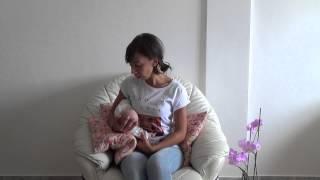 Tutorial dell'allattamento al seno:la posizione sottobraccio o a rugby