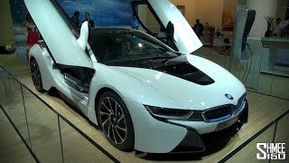 BMW i8 - Production Specification Hybrid Supercar