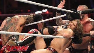 Daniel Bryan & Big Show vs. Batista & Randy Orton: Raw, March 10, 2014