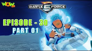 Motu Patlu presents Hot Wheels Battle Force 5 - Ascent of the Red Sentients- S2 E1.P1 - in Hindi