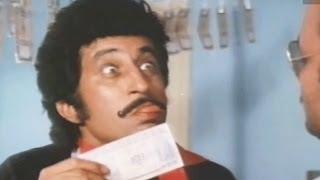 Shakti Kapoor's Minting Machine - Baap Numbri Beta Dus Numbri Scene