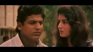 Om Kannada Movie   Satya is Crushed in college   Kannada Super Scenes   Shivarajkumar, Prema
