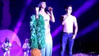 KATY PERRY KISSES IVAN DORSCHNER (and pinches his nipple)