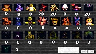Five Nights at Freddy's: Custom Game #2