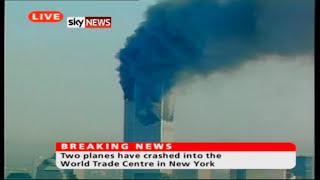 Sky News UK September 11th 2001 Studio Output - 9/11