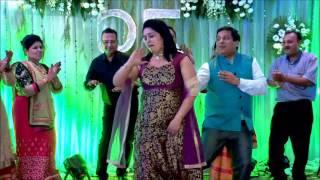 Ude jab jab zulfe teri - Parents Dance Performance