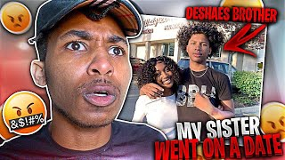DESHAE PUT TEE TEE ON A DATE WITH HIS LITTLE BROTHER... **It