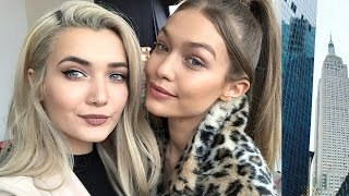 HANGING OUT WITH GIGI HADID IN NEWYORK!
