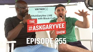 BLACK COFFEE, DEALING WITH REJECTION and INSPIRATION VS. MOTIVATION | #ASKGARYVEE 255