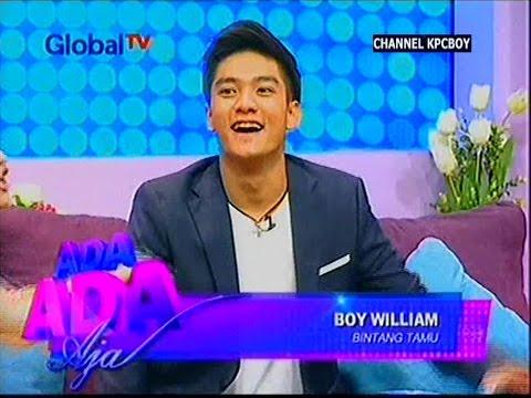[FULL] Curhatan Boy William tentang Awal Kariernya dari Global TV @Ada-Ada Aja 19 November 2014