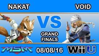 MSM 61 - CLG | Nakat (Fox) Vs. CLG | VoiD (Sheik) Grand Finals - Smash Wii U