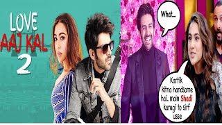 Kartik Aryan DATING Sara Ali Khan in Love Aajkal 2  Launch of Newest Vegetarian Cam