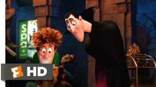 Hotel Transylvania 2 (1/10) Movie CLIP - Drac's Social Media Game (2015) HD