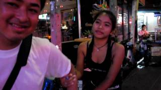 being dragged by a hooker in pattaya