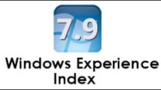 Windows 7 Performance Rating Score - Fun Hack