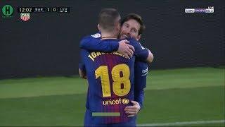 اهداف مبارة برشلونة  و ليفانتي   3-0    الدوري الإسباني    7-1-2018   HD