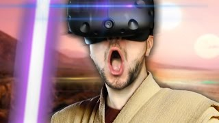 JEDI MASTER | Star Wars Trials On Tatooine (HTC Vive Virtual Reality)