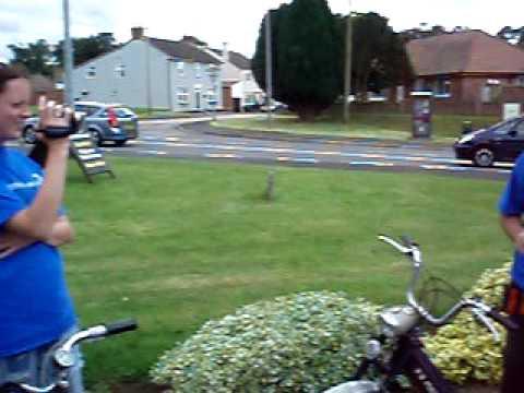 Pedal & Pop Moped Charity Run August 2009