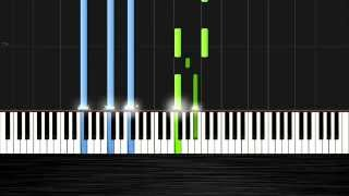 John Legend - All of Me - Piano Tutorial (50% Speed) by PlutaX - Synthesia