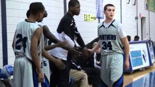 St. Marguerite d'Youville Panthers Junior Boys Basketball 2011-2012 ROPSSAA Final