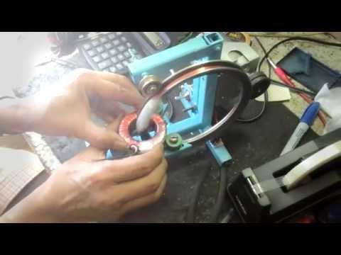 Bobinado de transformador toroidal