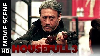 Jackie Shroff wants to give SMS | Housefull 3 | Movie Scene